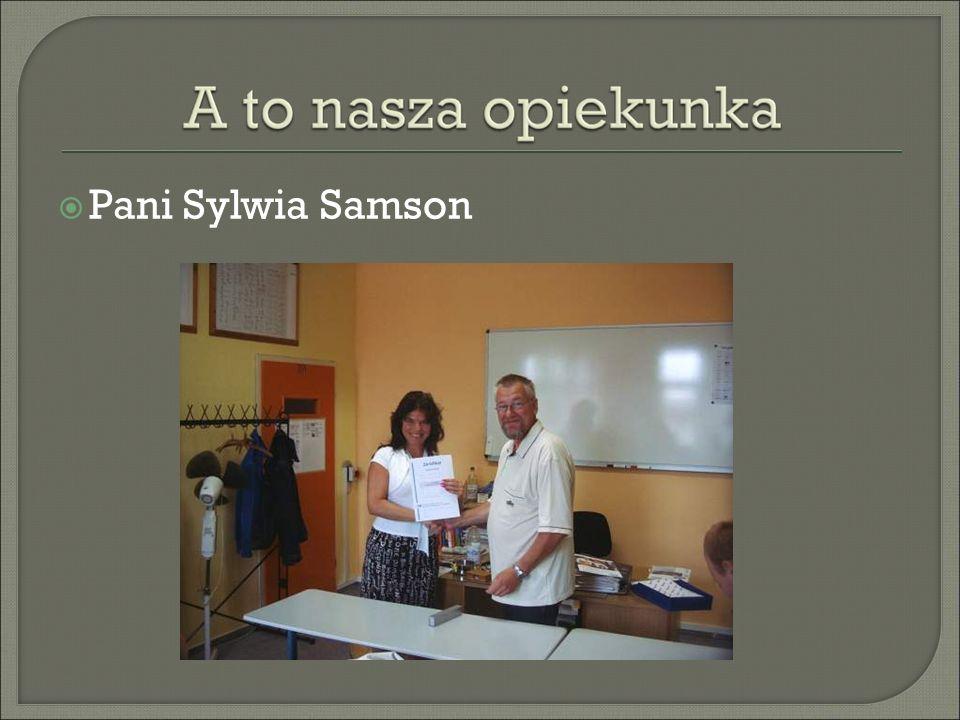 Pani Sylwia Samson