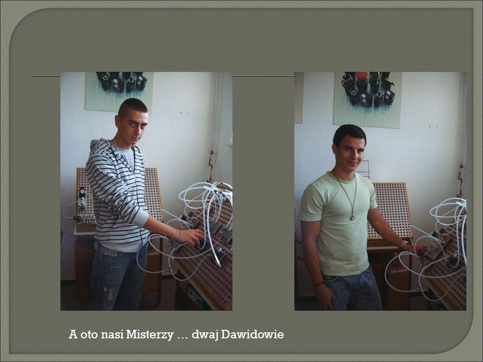 A oto nasi Misterzy … dwaj Dawidowie
