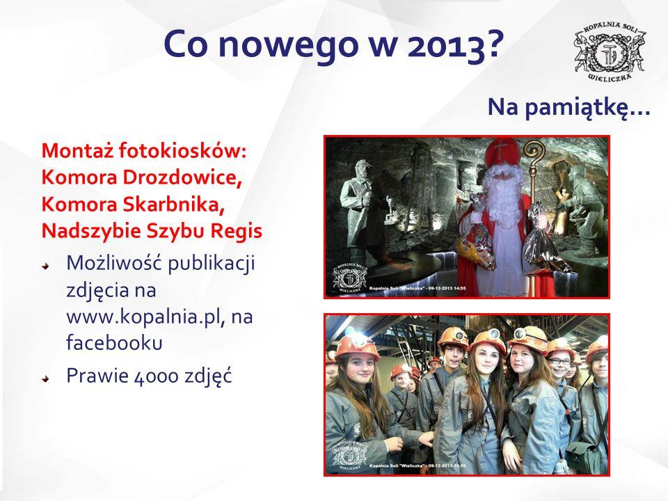 Co nowego w 2013 Na pamiątkę…