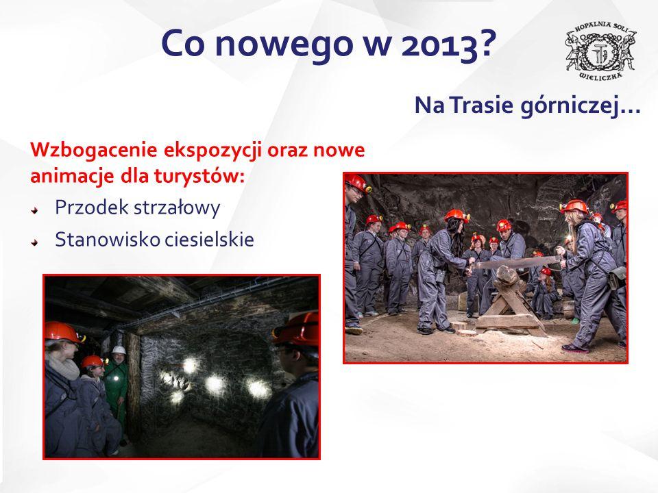 Co nowego w 2013 Na Trasie górniczej…
