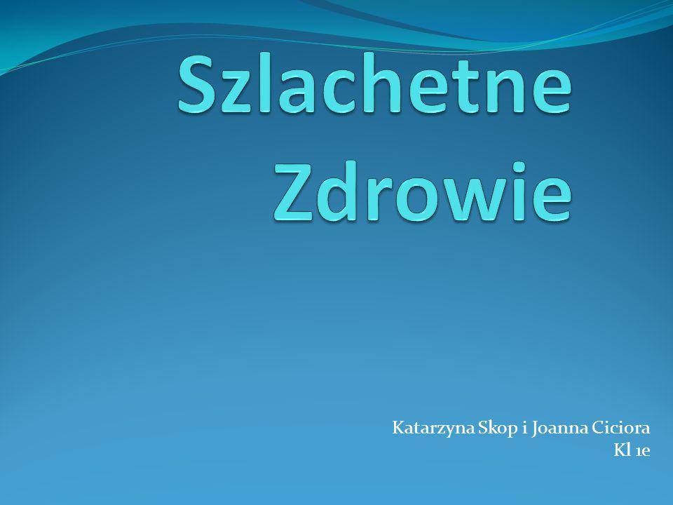 Katarzyna Skop i Joanna Ciciora Kl 1e