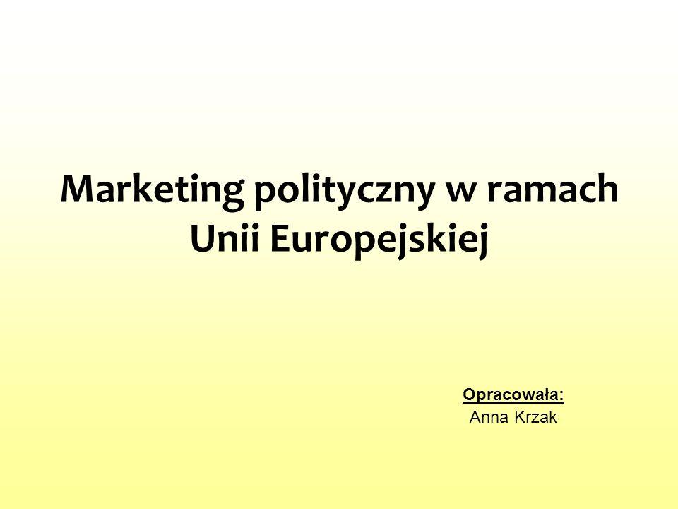 Marketing polityczny w ramach Unii Europejskiej