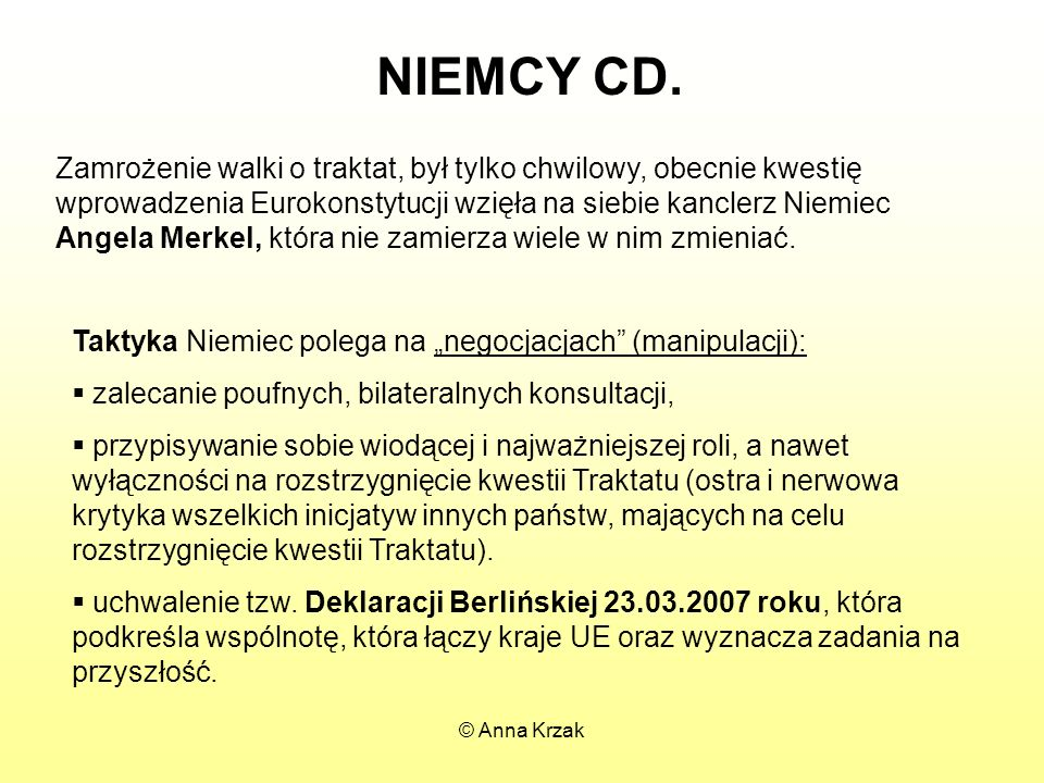 NIEMCY CD.