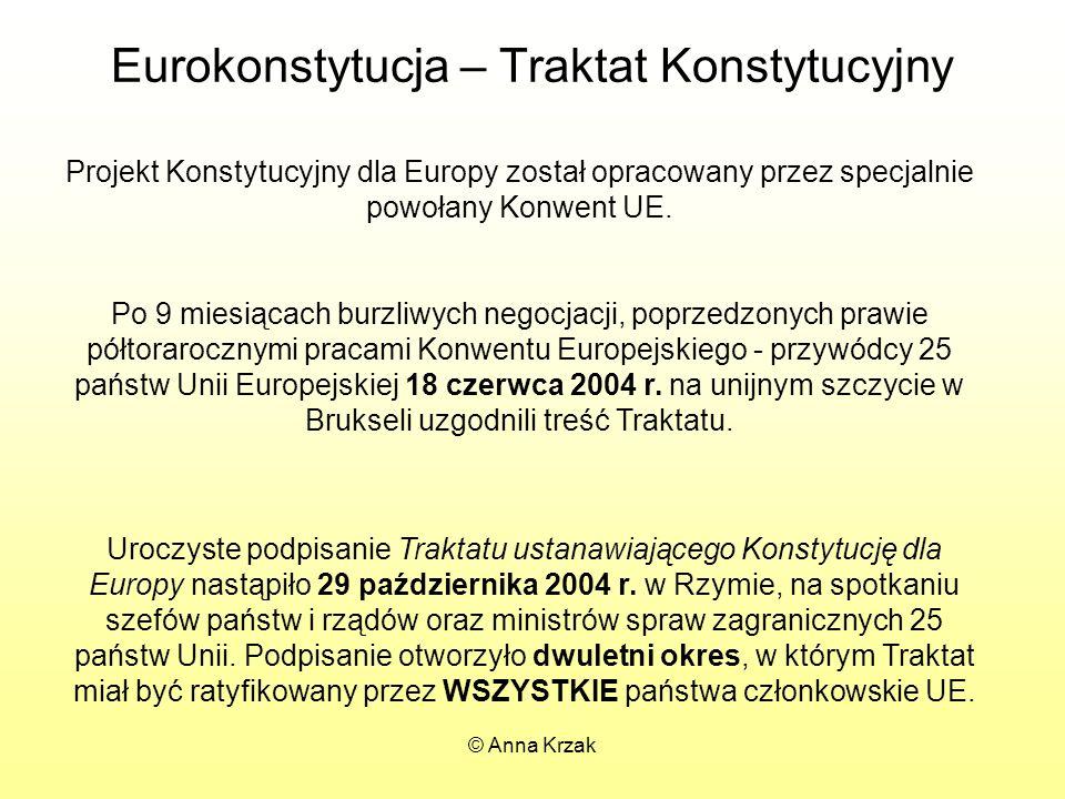 Eurokonstytucja – Traktat Konstytucyjny