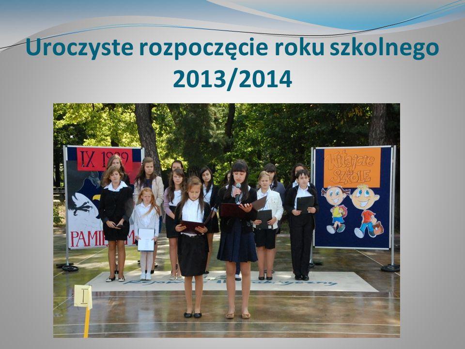 Uroczyste rozpoczęcie roku szkolnego 2013/2014