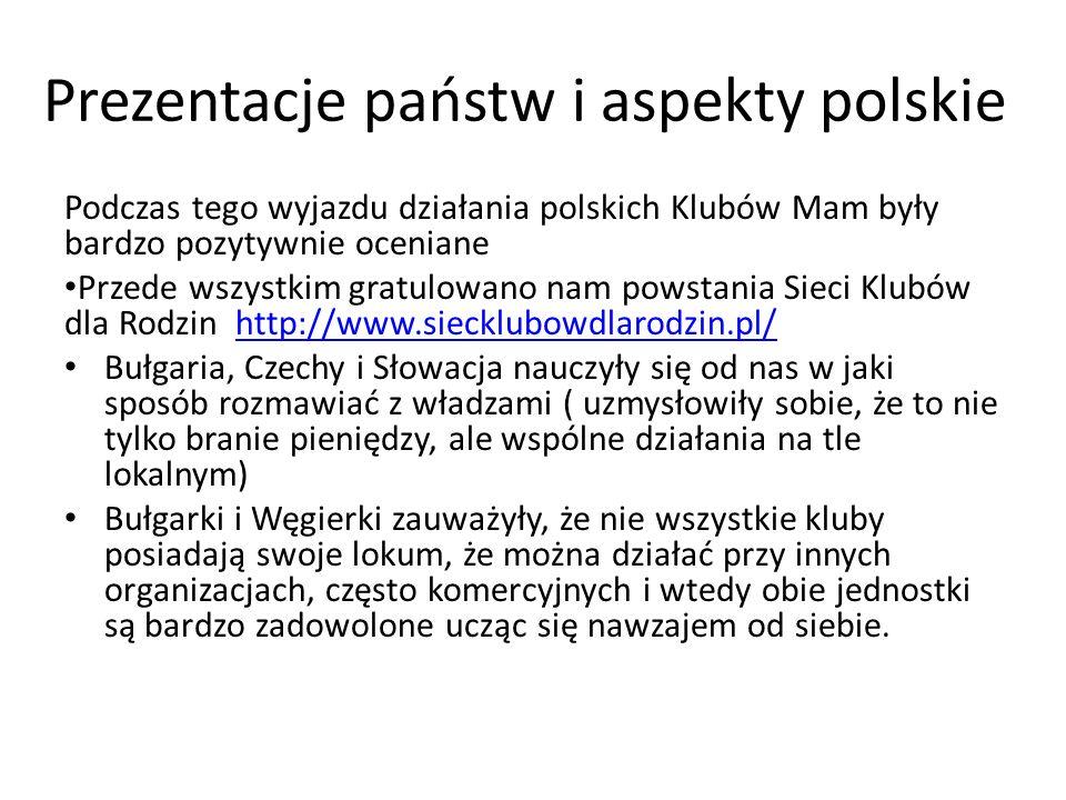 Prezentacje państw i aspekty polskie