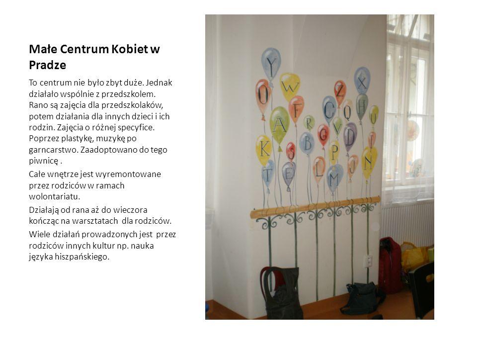 Małe Centrum Kobiet w Pradze
