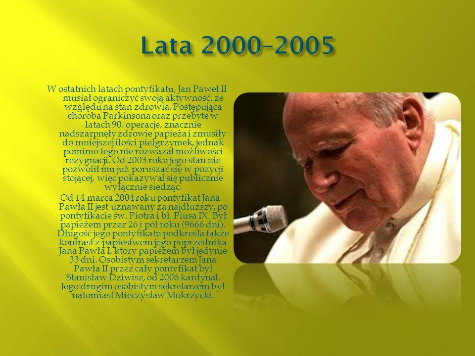 Lata 2000–2005