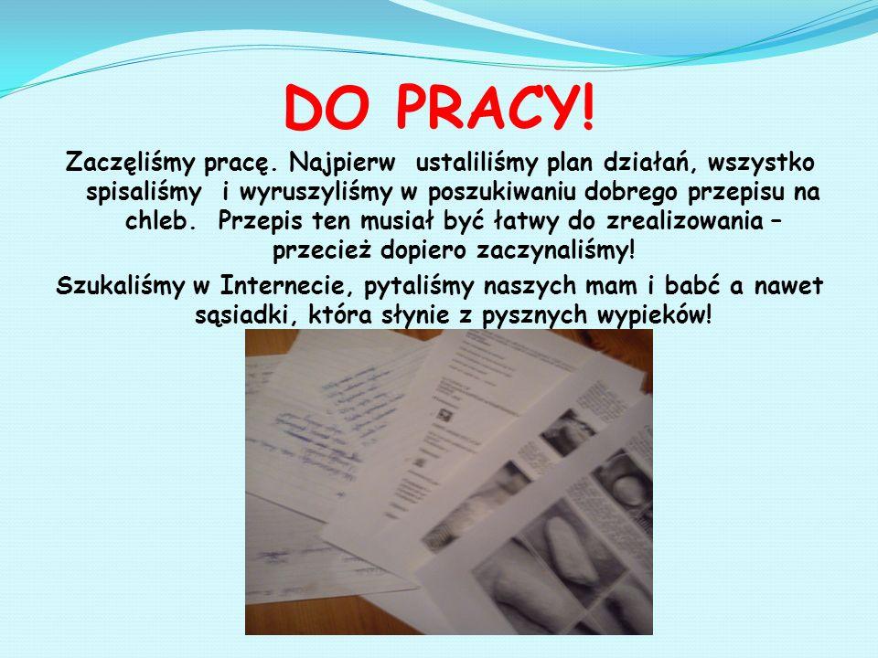 DO PRACY!