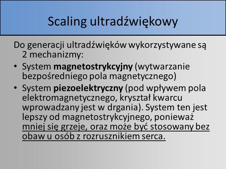 Scaling ultradźwiękowy