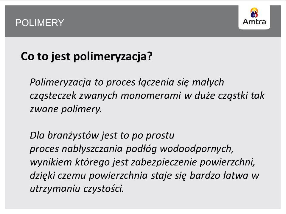 Co to jest polimeryzacja