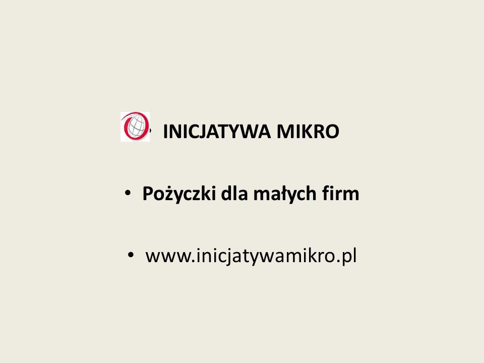 Pożyczki dla małych firm