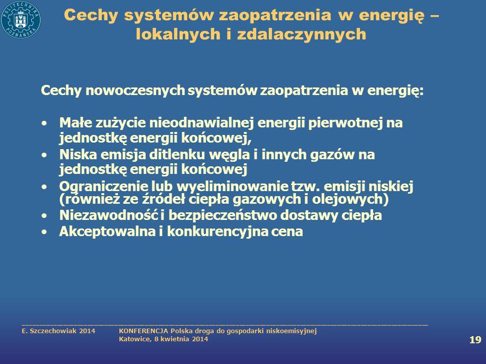 Cechy systemów zaopatrzenia w energię – lokalnych i zdalaczynnych