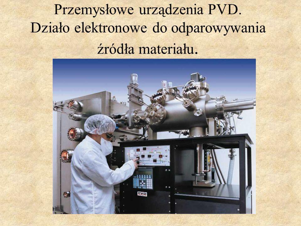 Przemysłowe urządzenia PVD