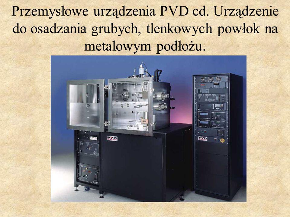 Przemysłowe urządzenia PVD cd