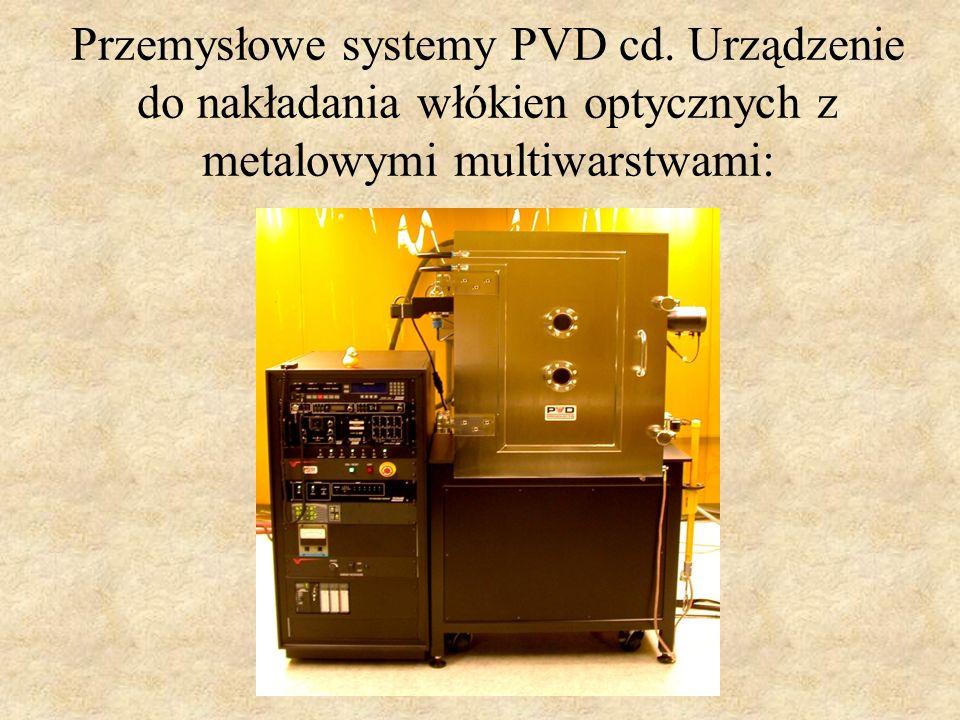 Przemysłowe systemy PVD cd