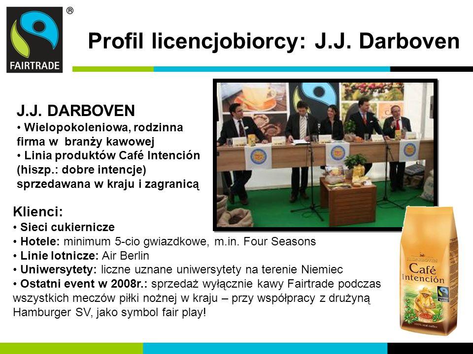Profil licencjobiorcy: J.J. Darboven