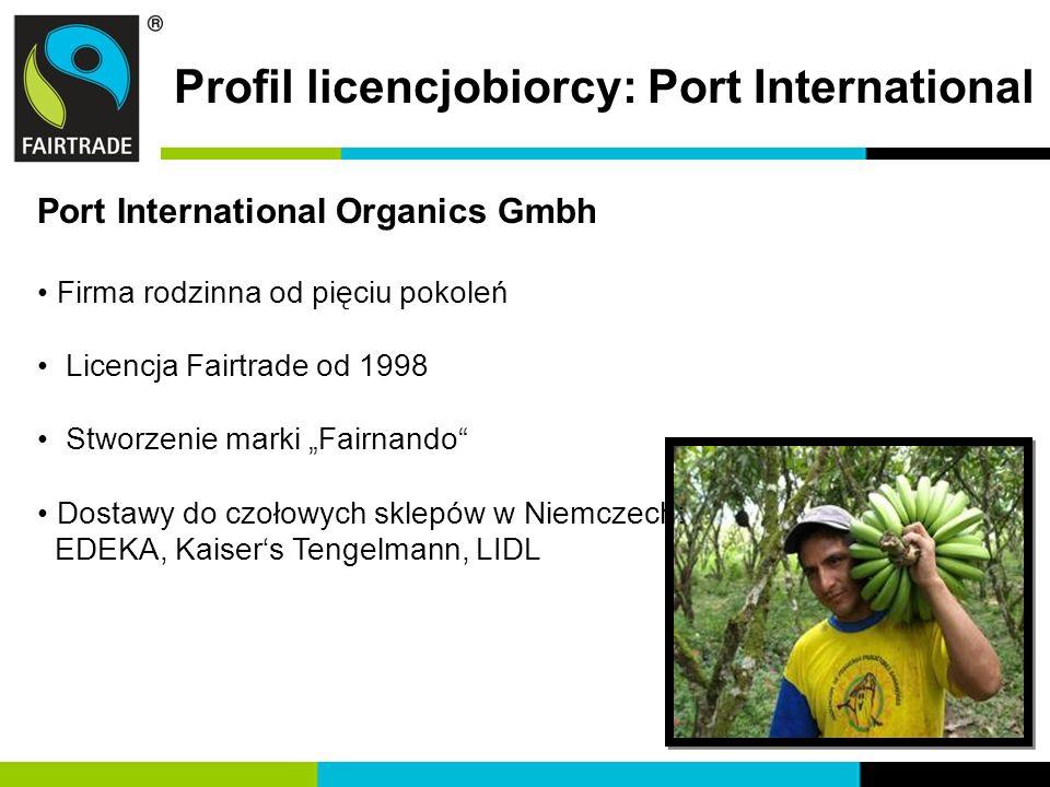 Profil licencjobiorcy: Port International