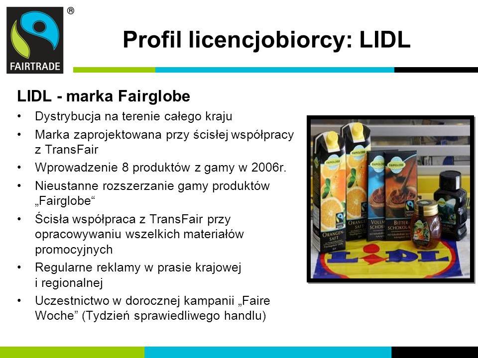 Profil licencjobiorcy: LIDL