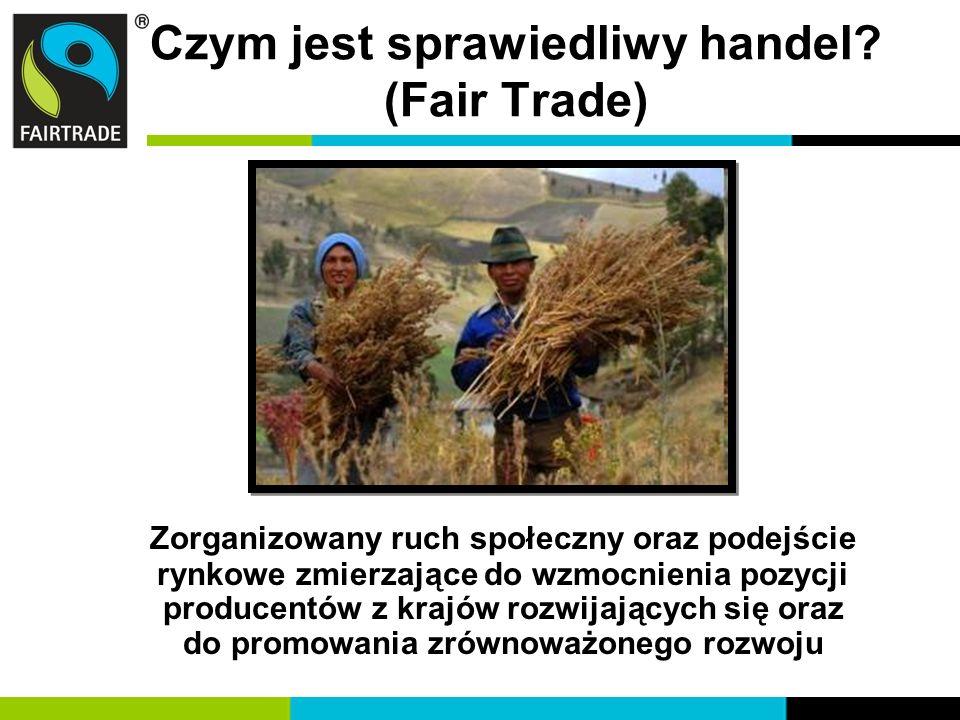 Czym jest sprawiedliwy handel (Fair Trade)