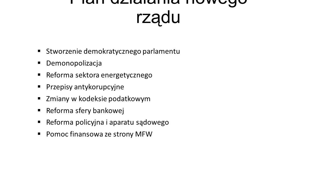 Plan działania nowego rządu