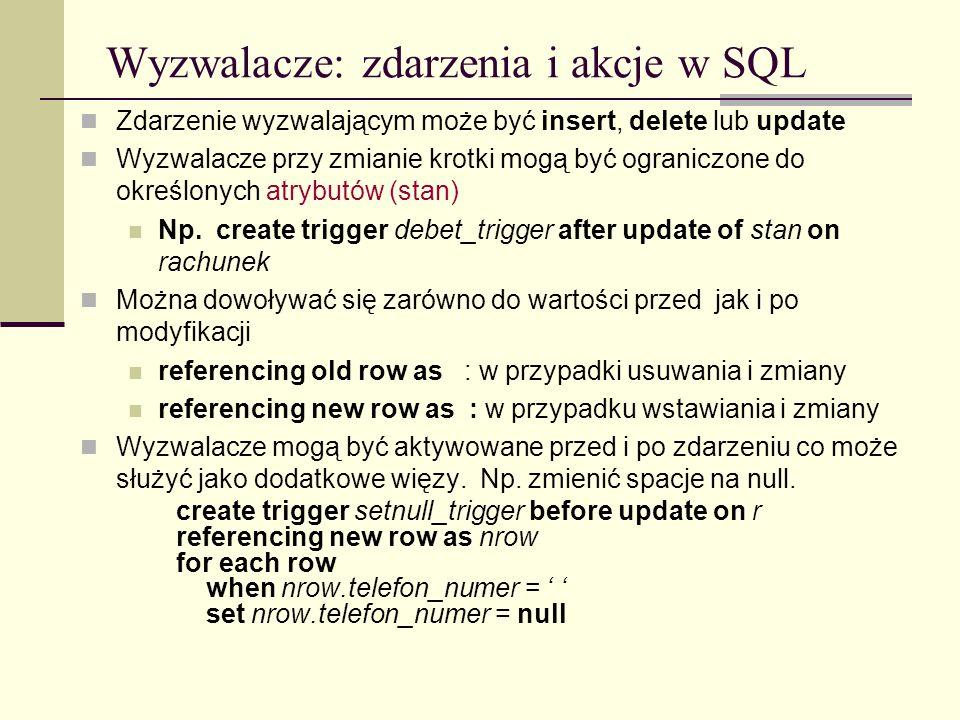 Wyzwalacze: zdarzenia i akcje w SQL
