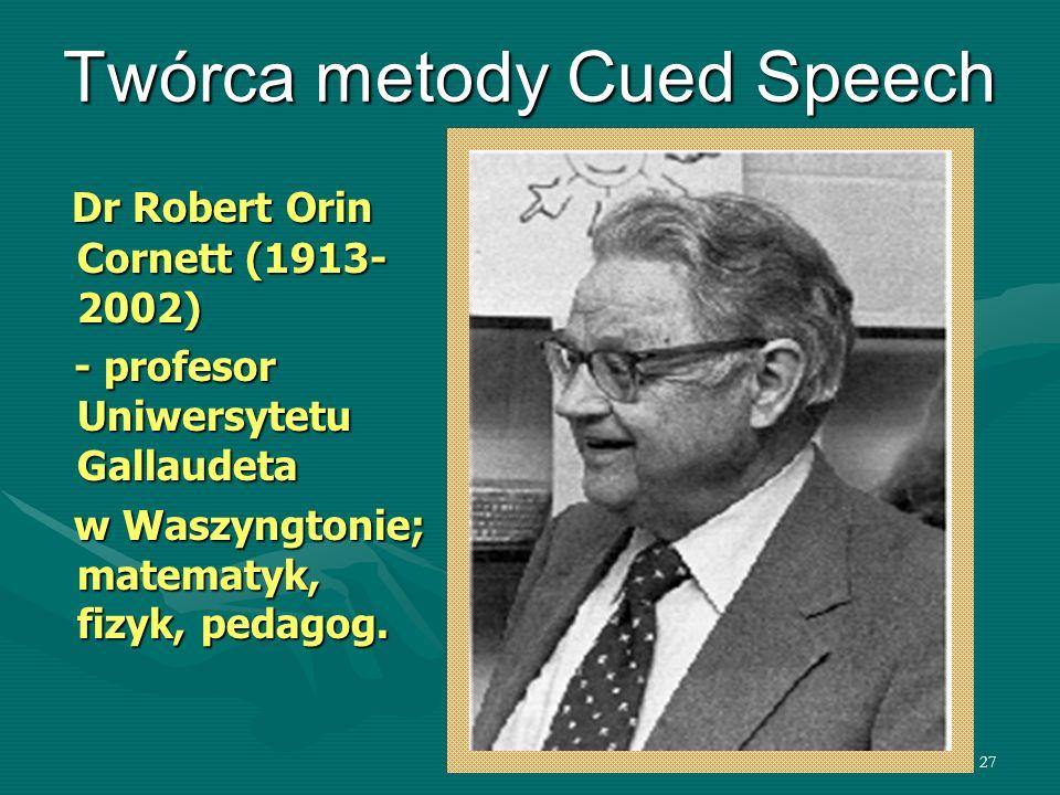 Twórca metody Cued Speech