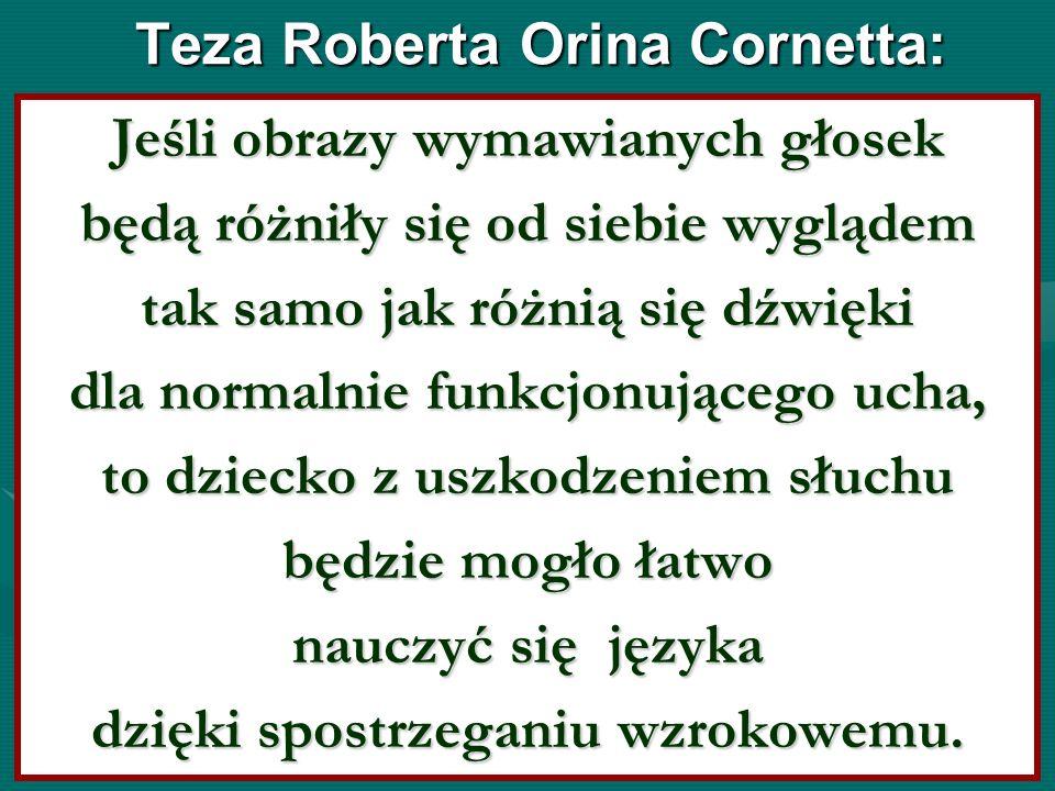 Teza Roberta Orina Cornetta: