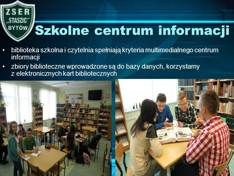 Szkolne centrum informacji Szkolne centrum informacji
