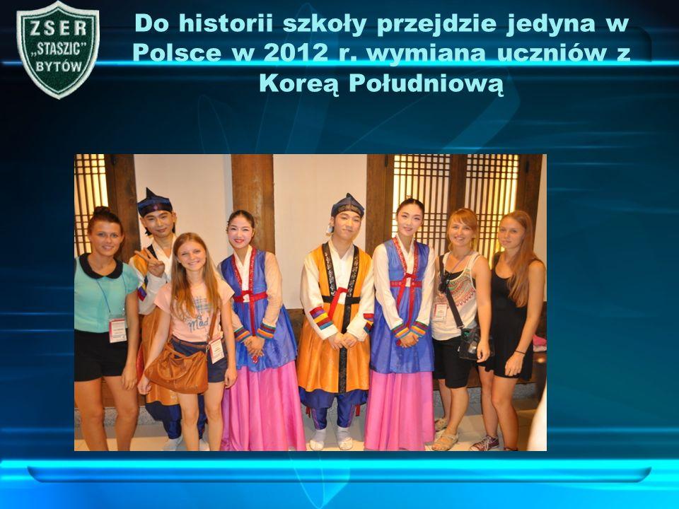 Do historii szkoły przejdzie jedyna w Polsce w 2012 r