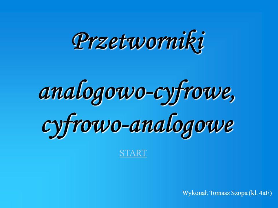 analogowo-cyfrowe, cyfrowo-analogowe