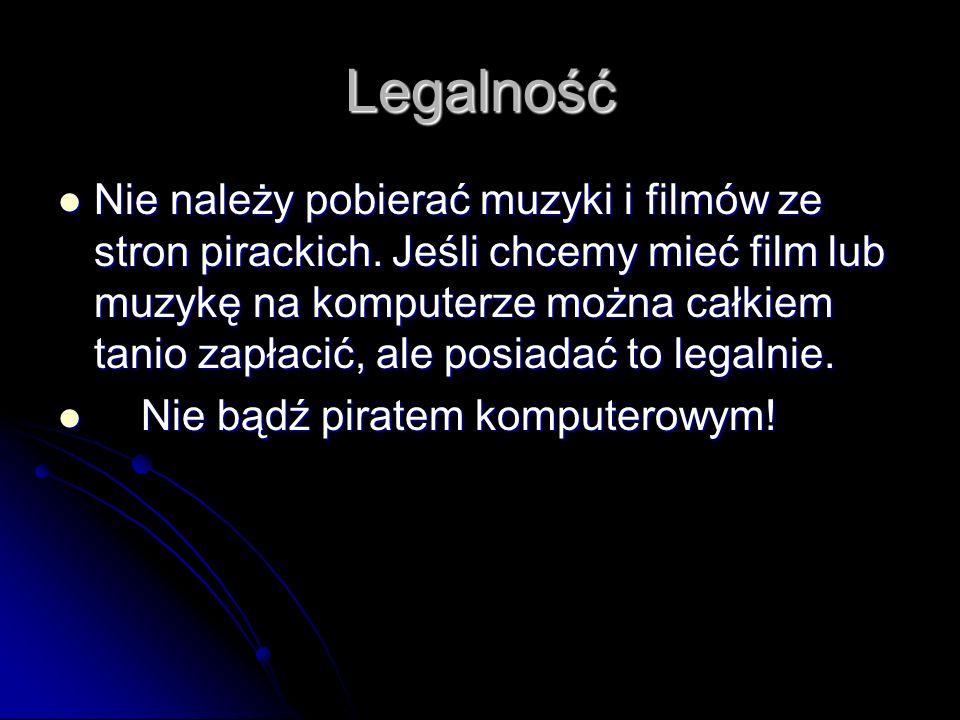 Legalność