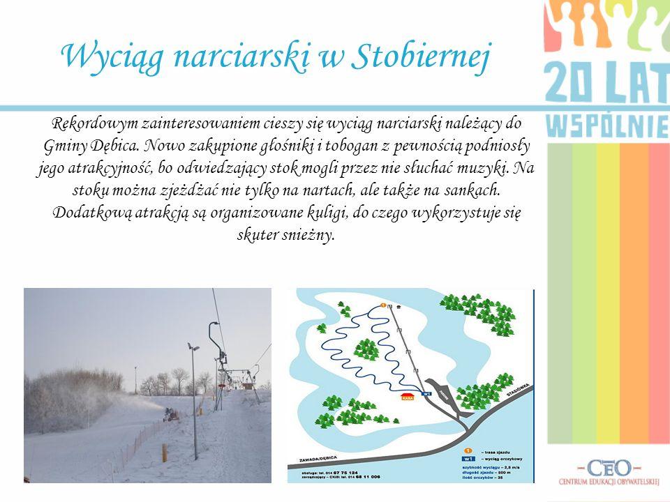 Wyciąg narciarski w Stobiernej