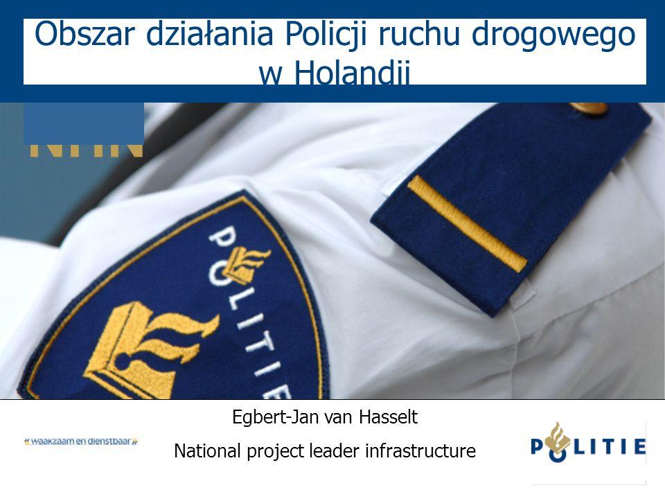 Obszar działania Policji ruchu drogowego w Holandii