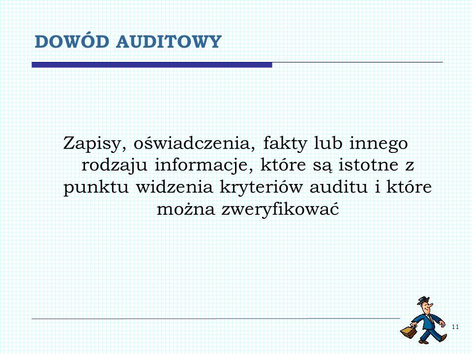 DOWÓD AUDITOWY