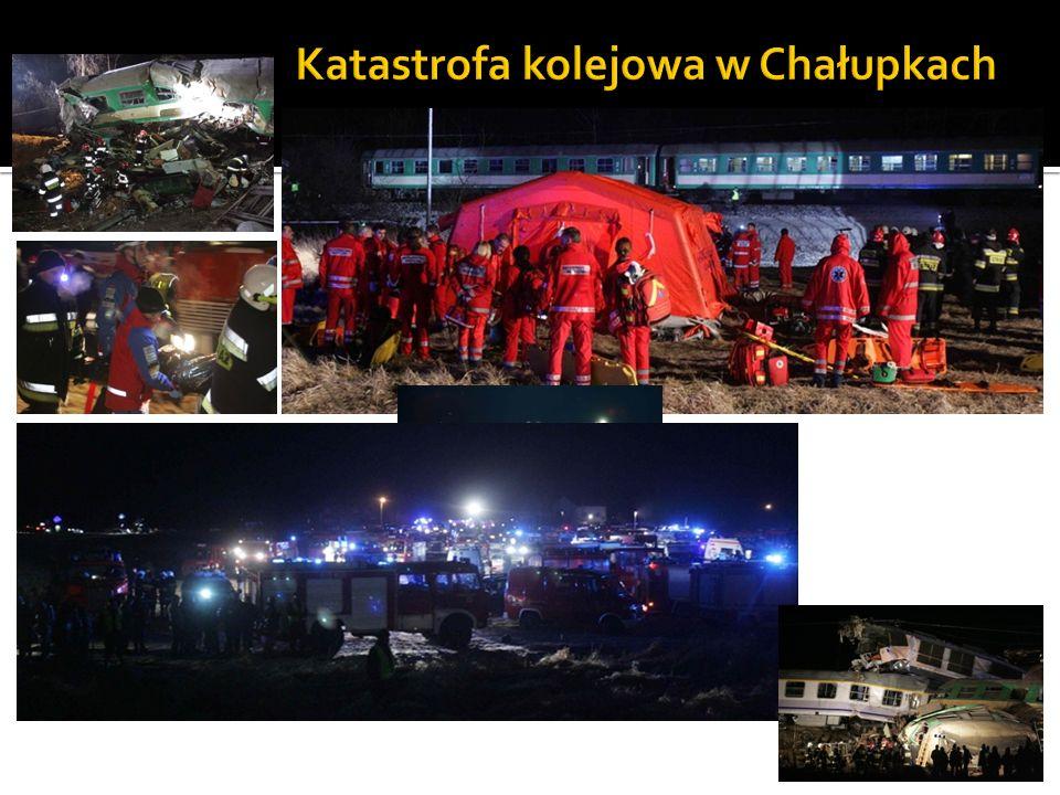 Katastrofa kolejowa w Chałupkach