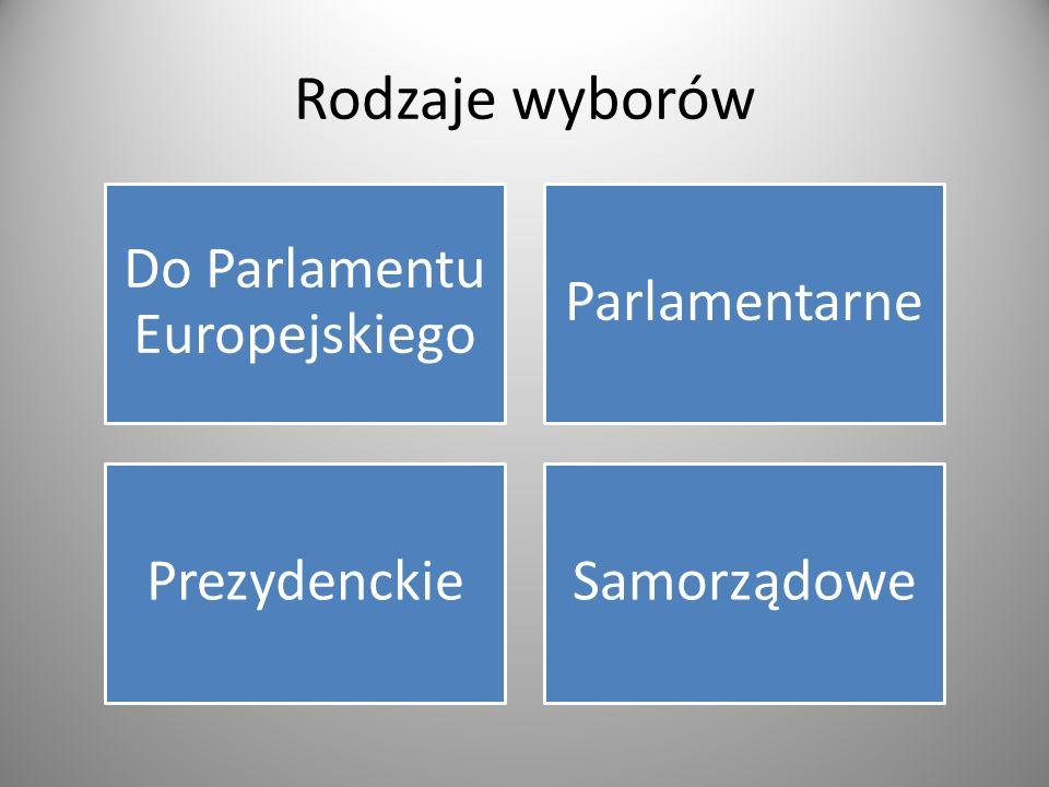 Do Parlamentu Europejskiego
