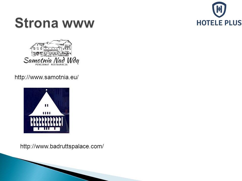 Strona www http://www.samotnia.eu/ http://www.badruttspalace.com/