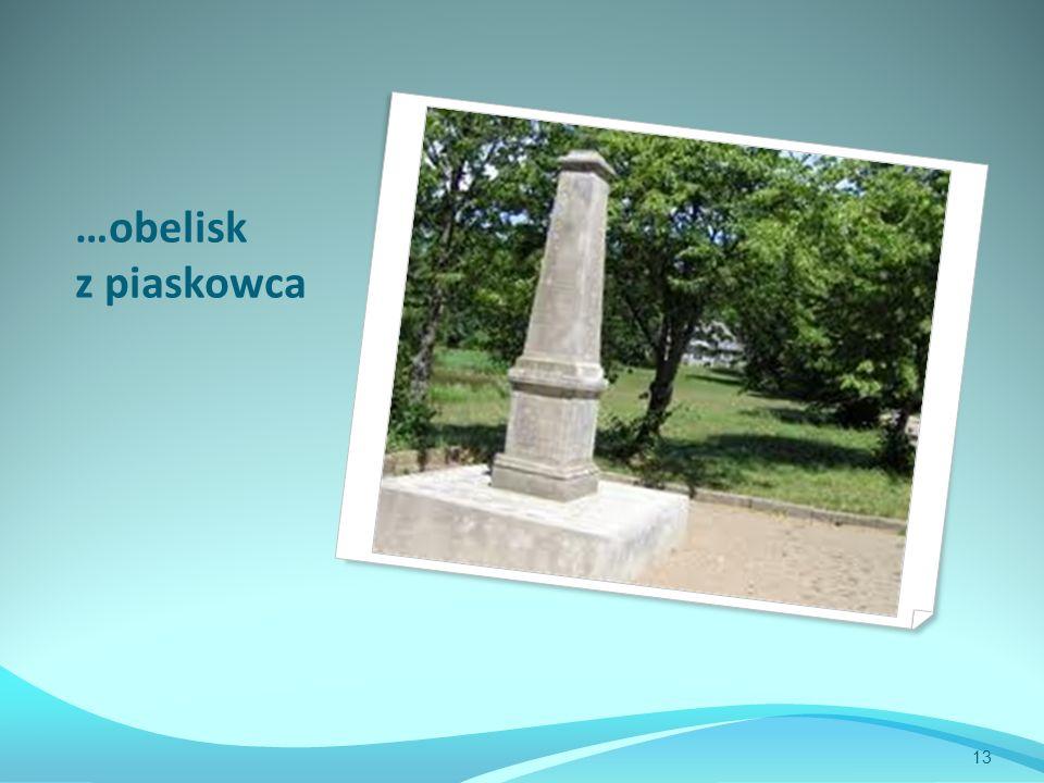 …obelisk z piaskowca