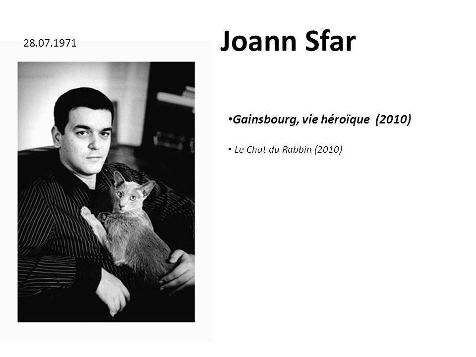 Joann Sfar Gainsbourg, vie héroïque (2010) 28.07.1971