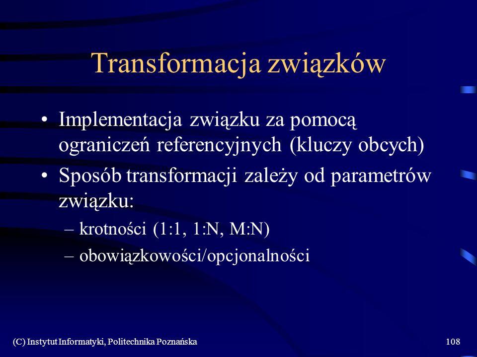 Transformacja związków