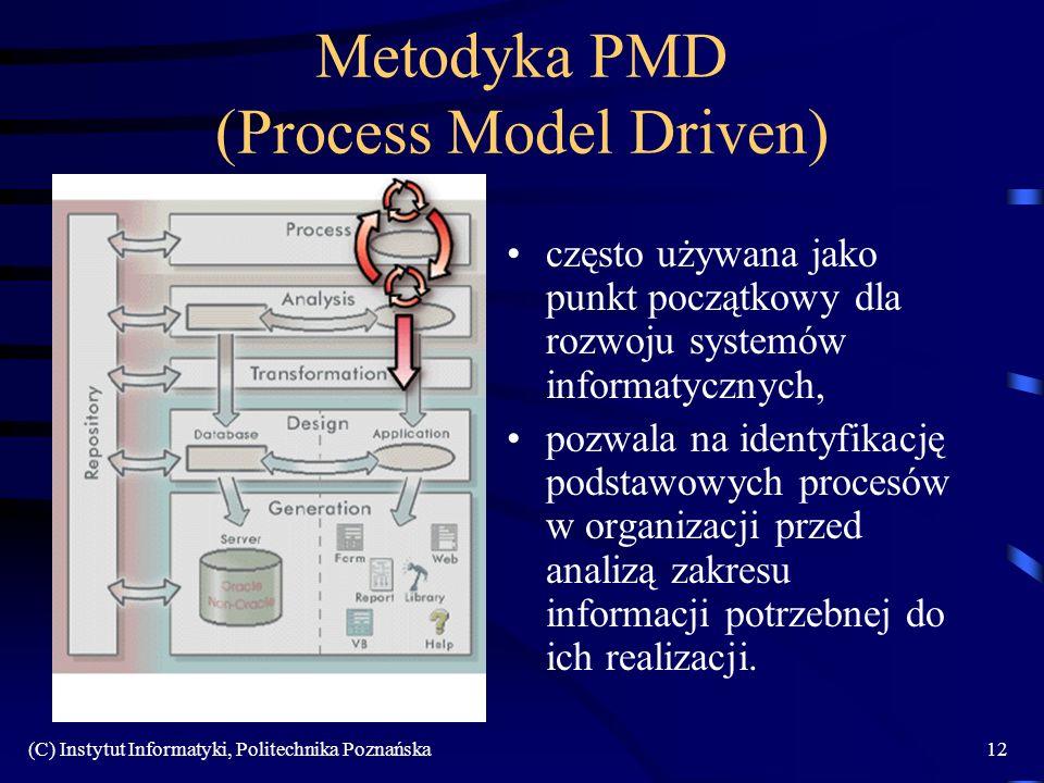 Metodyka PMD (Process Model Driven)