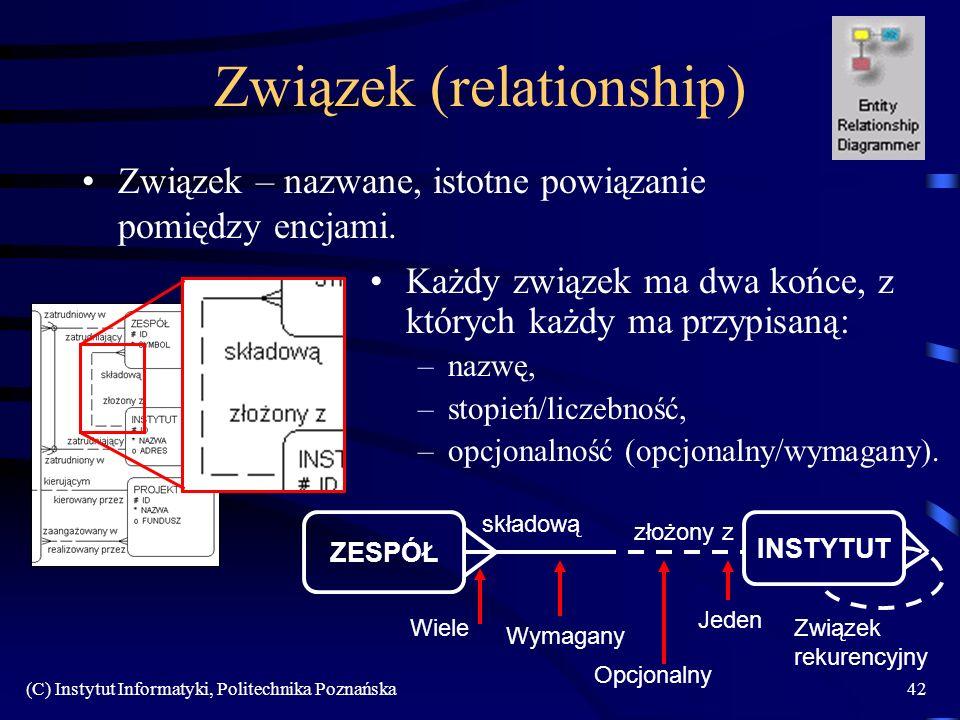 Związek (relationship)