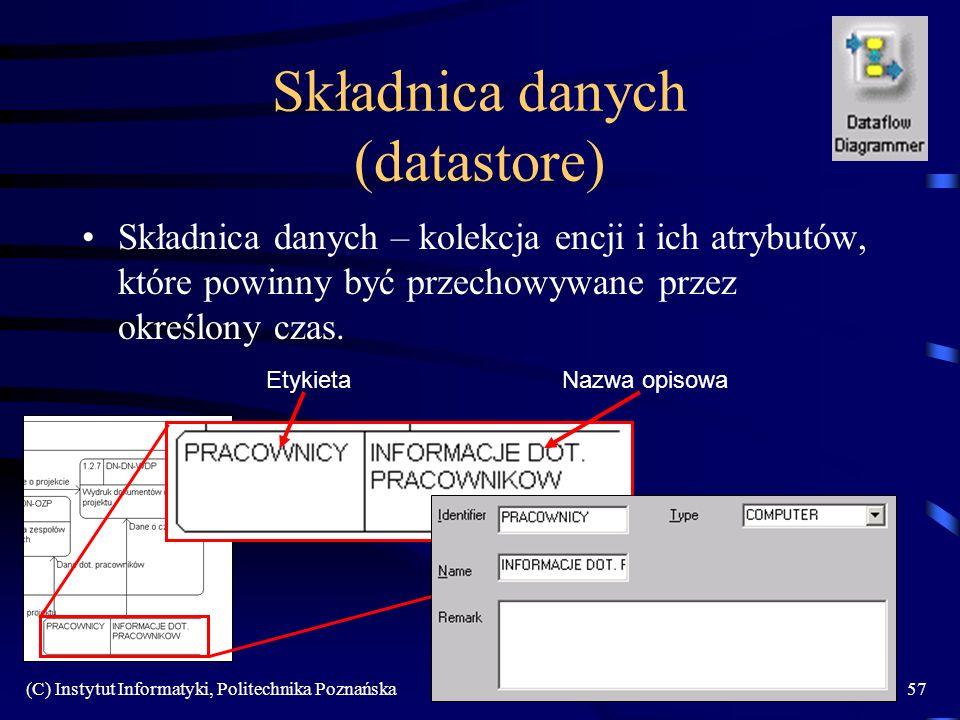 Składnica danych (datastore)