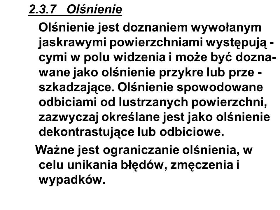 2.3.7 Olśnienie