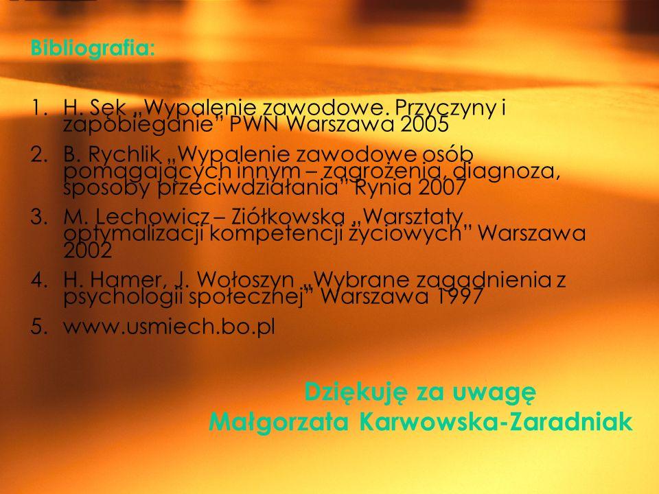 Małgorzata Karwowska-Zaradniak
