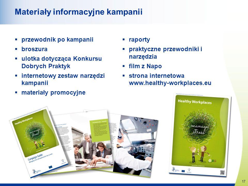 Materiały informacyjne kampanii