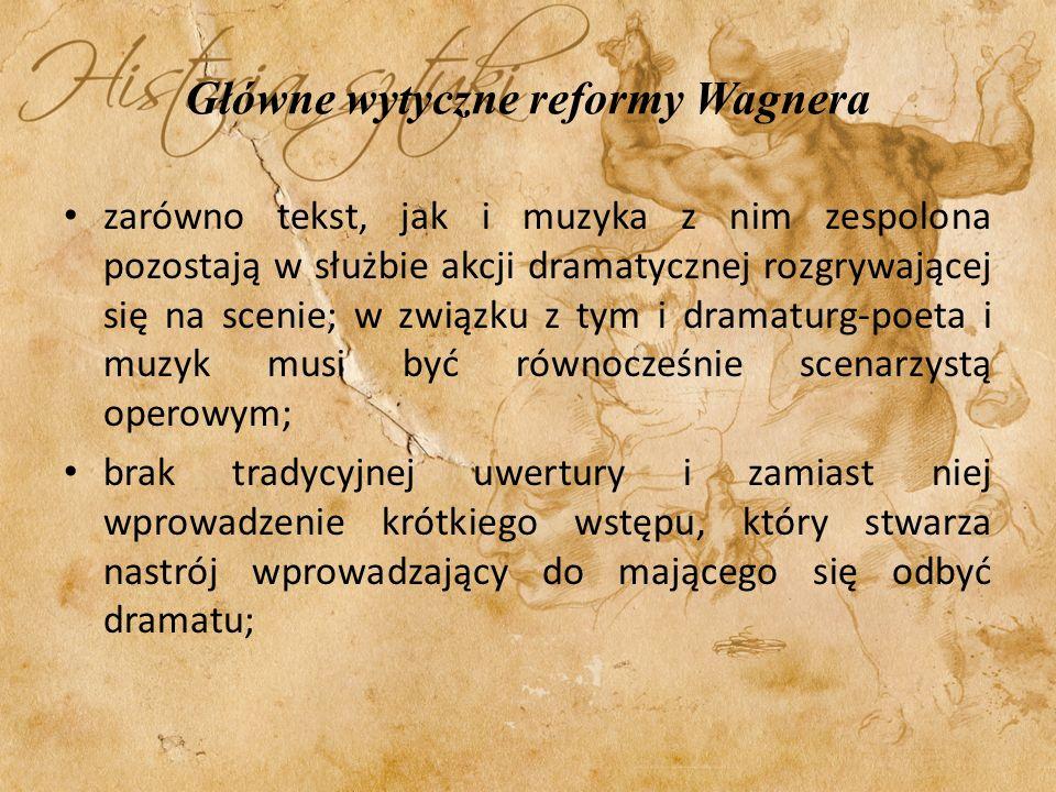 Główne wytyczne reformy Wagnera