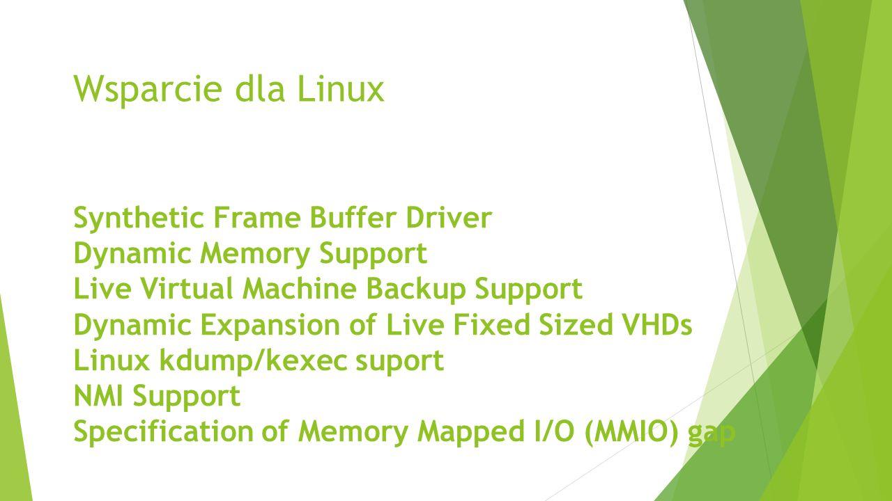 Wsparcie dla Linux