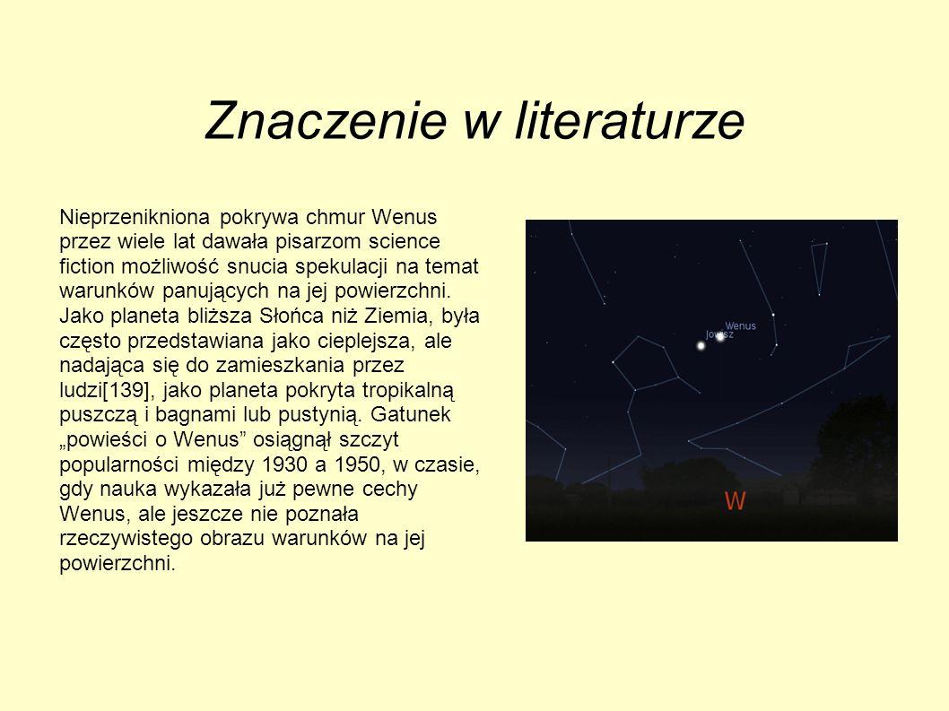 Znaczenie w literaturze